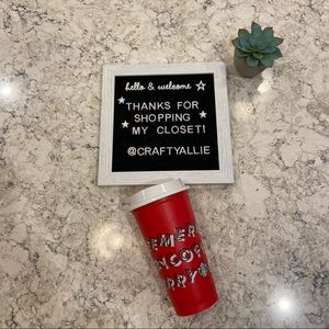 🌟 Starbucks Limited Edition Re-Usable Holiday Cup